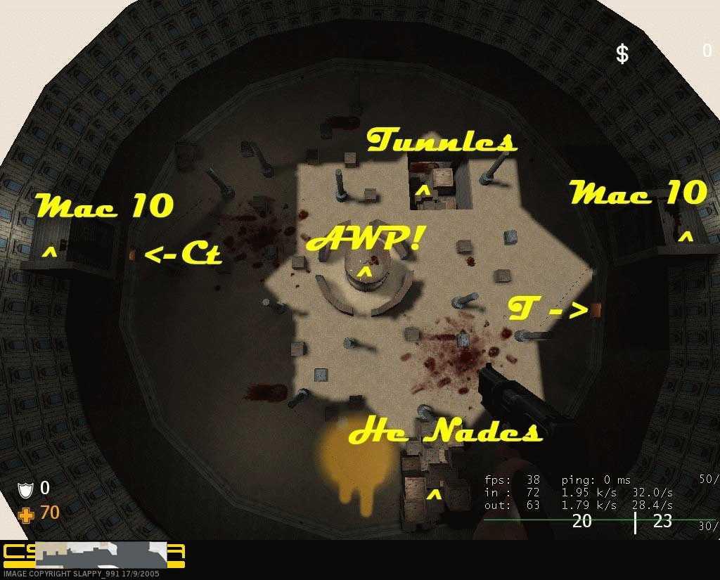 Скачать Карта Gunz_Battle_Arena для css