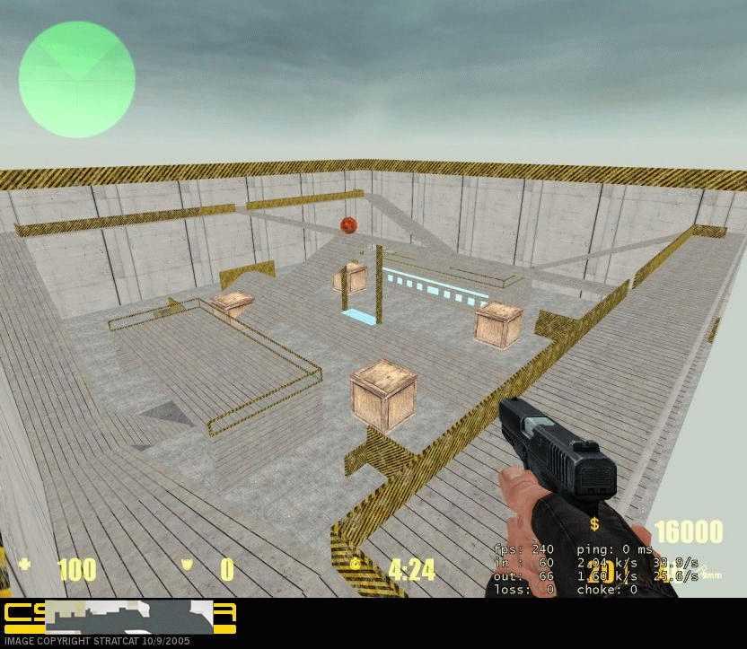 Скачать Карта pw_arena для css